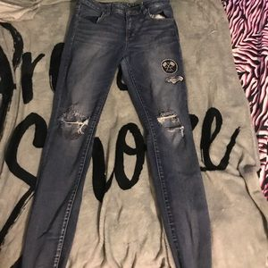 American Eagle Outfitters Jeans - American eagle Denim distressed jeggings